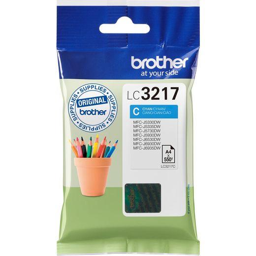 Brother LC3217C Cyan Ink Cartridge