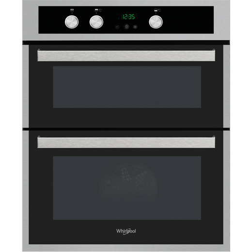 Whirlpool AKL307IX Built Under Electric Double Oven With Feet - Stainless Steel - A/A Rated
