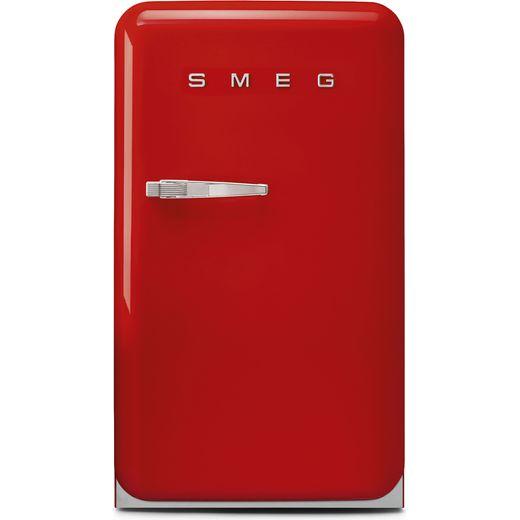 Smeg Right Hand Hinge Home Bar FAB10HRRD5 Fridge - Red - E Rated