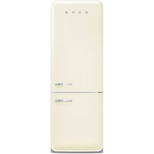 Smeg Right Hand Hinge FAB38RCR5 70/30 Frost Free Fridge Freezer - Cream - E Rated