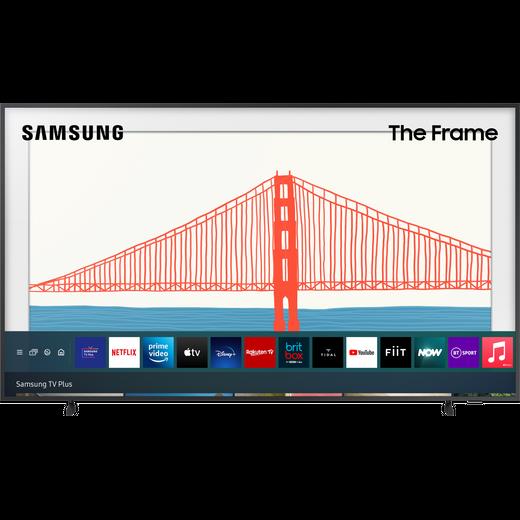 "Samsung QLED QE65LS03AA 65"" Smart 4K Ultra HD TV, With Quantum Processor 4K and Apple TV App"