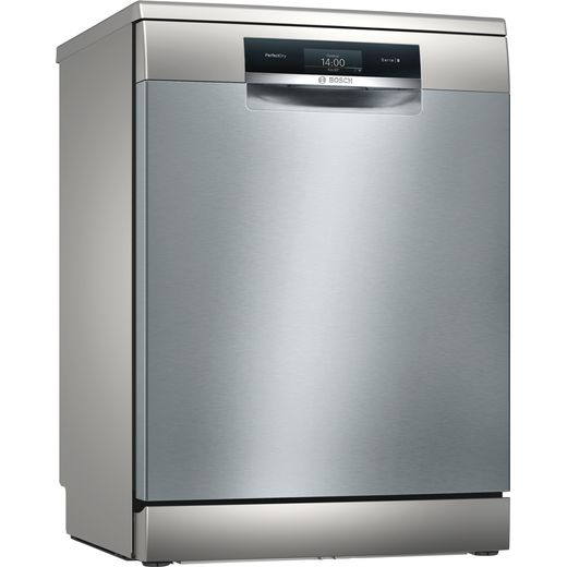 Bosch Serie 8 SMS8YCI01E Wifi Connected Standard Dishwasher - Stainless Steel Effect - B Rated