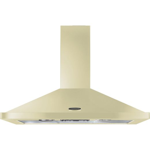 Rangemaster LEIHDC100CR/C 100 cm Chimney Cooker Hood - Cream - B Rated