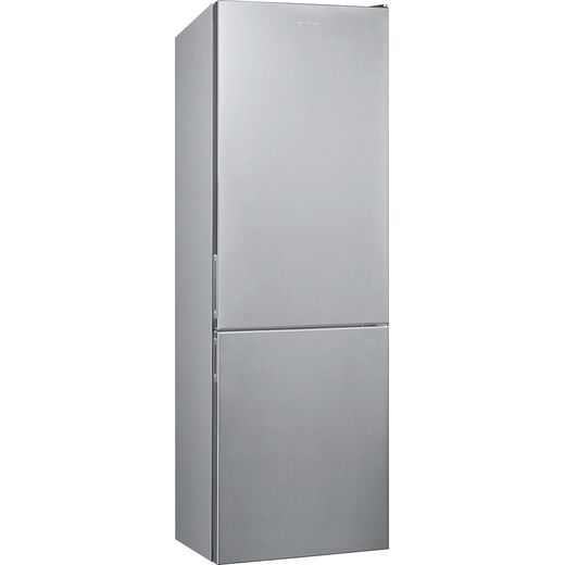 Smeg FC18EN1X 60/40 Frost Free Fridge Freezer - Stainless Steel - E Rated