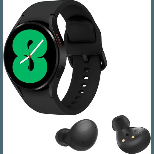 Samsung Galaxy Watch4 + Buds2 Bundle, GPS - 40mm - Black