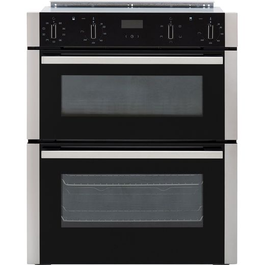 NEFF N50 J1ACE2HN0B Built Under Electric Double Oven - Stainless Steel - A/B Rated