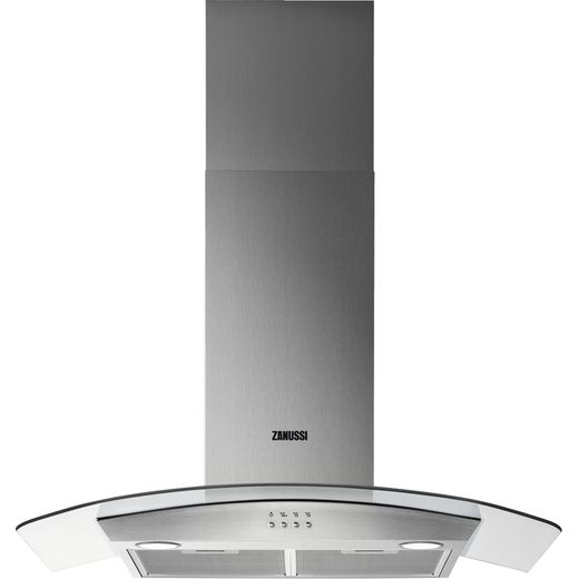 Zanussi ZHC92352X 90 cm Chimney Cooker Hood - Stainless Steel - C Rated