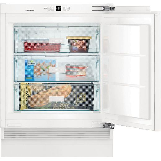 Liebherr SUIG1514 Integrated Under Counter Freezer with Fixed Door Fixing Kit - E Rated