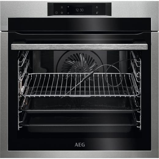 AEG BPE748380M Built In Electric Single Oven - Stainless Steel - A++ Rated