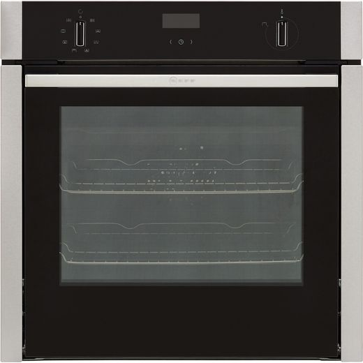 NEFF N50 Slide&Hide® B4ACF1AN0B Built In Electric Single Oven - Stainless Steel