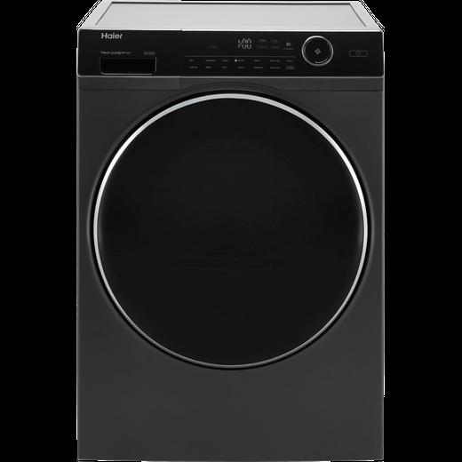 Haier HD90-A2979S 9Kg Heat Pump Tumble Dryer - Graphite - A++ Rated