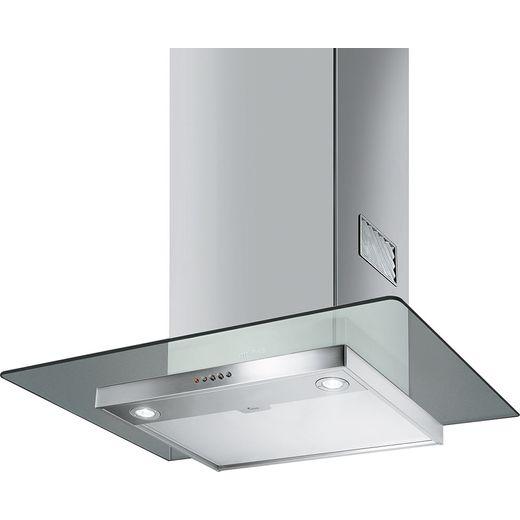 Smeg KFV62DE 60 cm Chimney Cooker Hood - Stainless Steel / Glass - B Rated