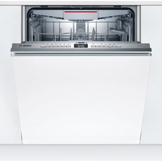 Bosch Serie 4 SGH4HVX32G Fully Integrated Standard Dishwasher - Stainless Steel Control Panel - E Rated