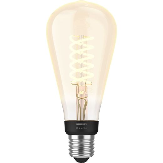 Philips Hue E27 Filament Edison Smart Bulb - A+ Rated