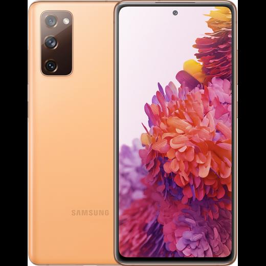 Samsung Galaxy S20 FE 5G 128GB Smartphone in Cloud Orange