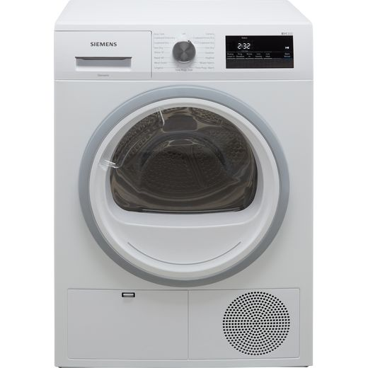 Siemens IQ-300 WT45N202GB 8Kg Condenser Tumble Dryer - White - B Rated