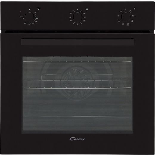 Candy FCP602N Built In Electric Single Oven - Black