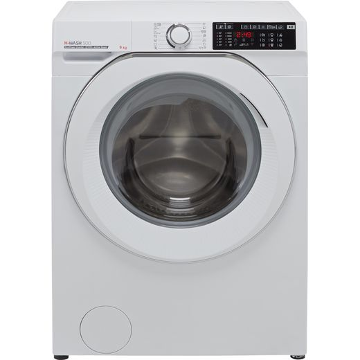 Hoover H-WASH 500 HW49AMC/1 Wifi Connected 9Kg Washing Machine with 1400 rpm - White - A Rated