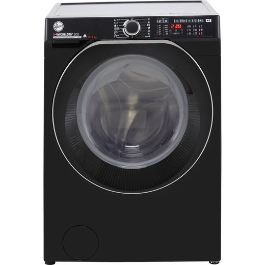 Hoover H-WASH 500 HDD4106AMBCB Wifi Connected 10Kg / 6Kg Washer Dryer with 1400 rpm - Black - D Rated