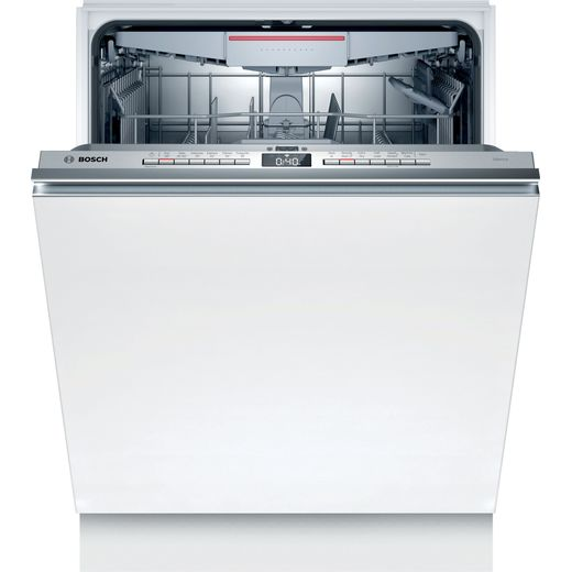 Bosch SMV4HCX40G Wifi Connected Fully Integrated Standard Dishwasher - Stainless Steel Control Panel - A++ Rated