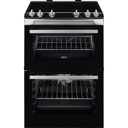 Zanussi ZCI66080XA Electric Cooker with Induction Hob - Stainless Steel - A Rated