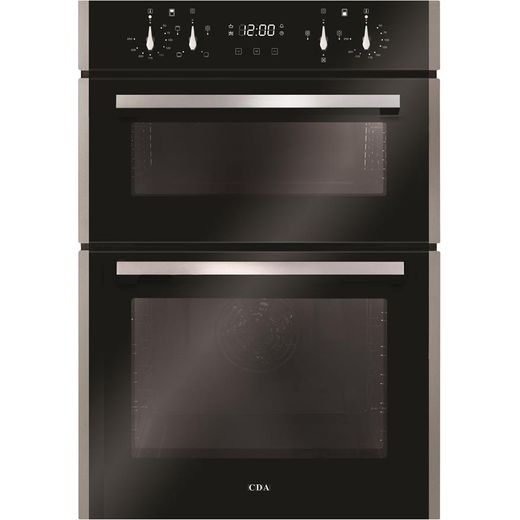 CDA DC941SS Built In Electric Double Oven - Stainless Steel - A/A Rated