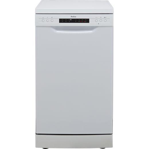 Amica ADF450WH Slimline Dishwasher - White