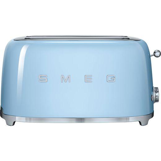 Smeg 50's Retro TSF02PBUK 4 Slice Toaster - Pastel Blue