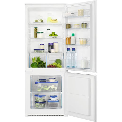 Zanussi ZNLN14FS Built In Fridge Freezer - White