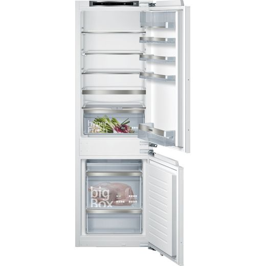 Siemens IQ-500 KI86SAFE0G Integrated 60/40 Fridge Freezer with Fixed Door Fixing Kit - White - E Rated