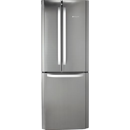 Hotpoint FFU3DX1 60/40 Frost Free Fridge Freezer - Stainless Steel - F Rated