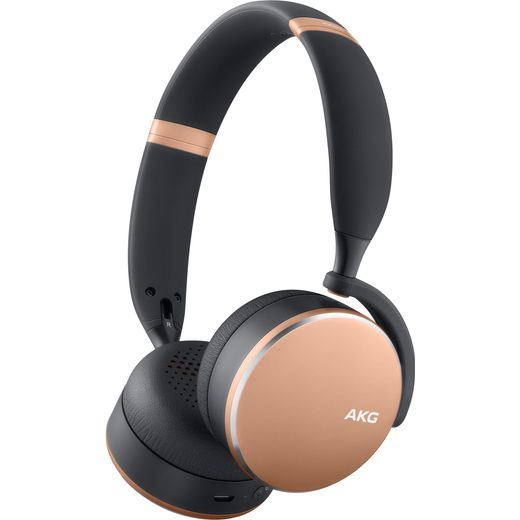 AKG Y500 Over-Ear Wireless Bluetooth Headphones - Rose Gold