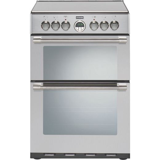 Stoves STERLING600E 60cm Electric Cooker with Ceramic Hob - Stainless Steel - A/A Rated