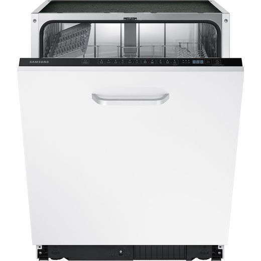 Samsung Series 6 DW60M6040BB Fully Integrated Standard Dishwasher - Black Control Panel with Fixed Door Fixing Kit - E Rated