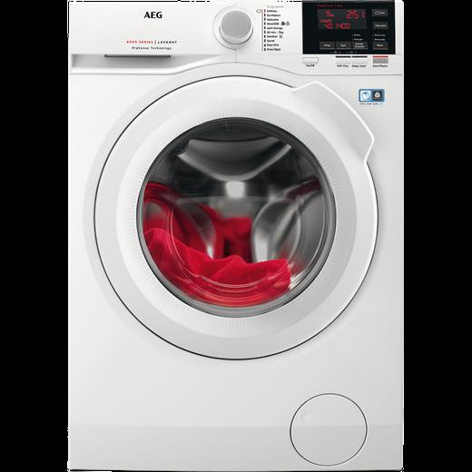 AEG ProSense Technology L6FBG141R 10Kg Washing Machine with 1400 rpm - White - D Rated