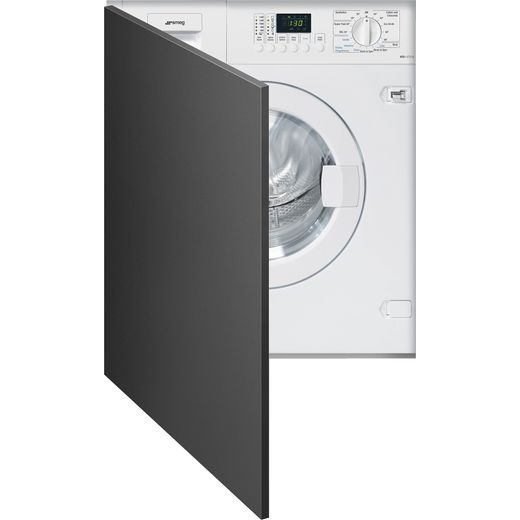 Smeg WDI147D-2 Integrated 7Kg / 7Kg Washer Dryer with 1400 rpm - White - E Rated