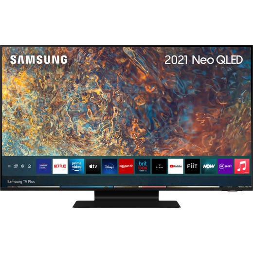 """Samsung QLED QE75QN90AA 75"""" Smart 4K Ultra HD TV With 100% Colour Volume and Apple TV App"""