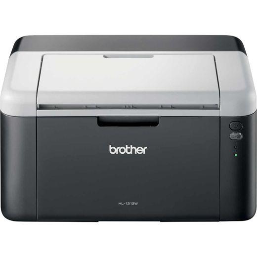 Brother HL-1212W Compact Wireless Mono Laser Printer - Black