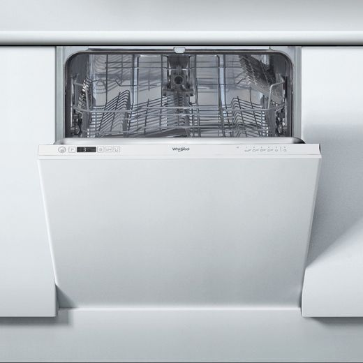Whirlpool WIC3B19UKN Fully Integrated Standard Dishwasher - Anthracite Control Panel - F Rated