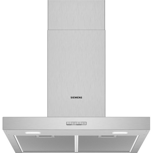 Siemens IQ-100 LC64BBC50B 60 cm Chimney Cooker Hood - Stainless Steel - D Rated