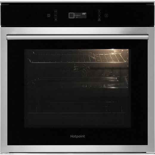 Hotpoint SI6874SHIX Built In Electric Single Oven - Stainless Steel - A+ Rated