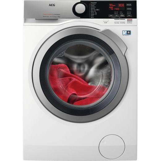 AEG L7FEE865R 8Kg Washing Machine with 1600 rpm - White - C Rated