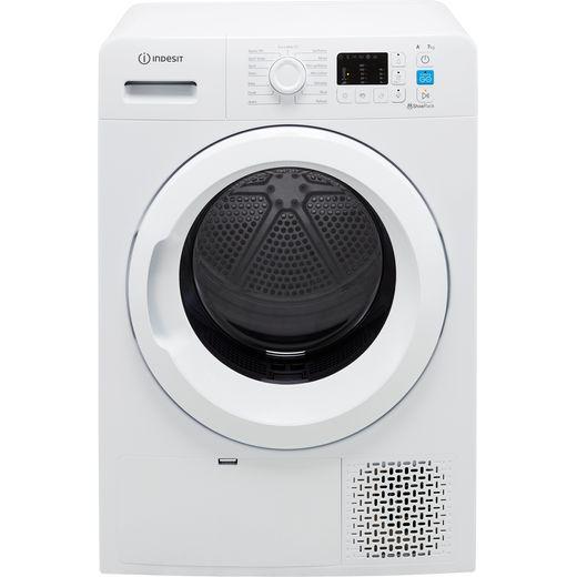 Indesit YTM1071RUK 7Kg Heat Pump Tumble Dryer - White - A+ Rated