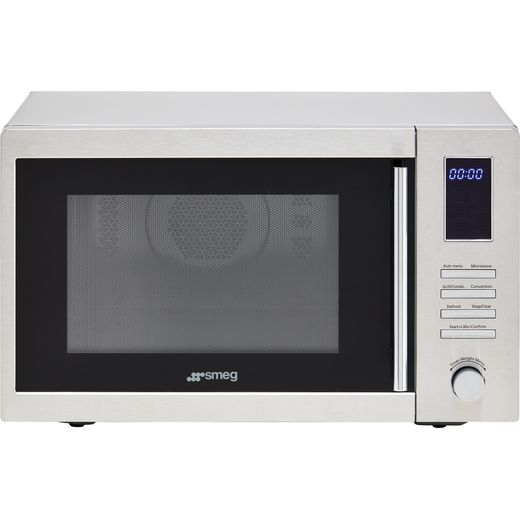 Smeg MOE34CXIUK 34 Litre Combination Microwave Oven - Stainless Steel