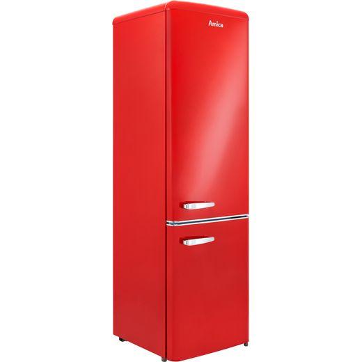 Amica FKR29653R 60/40 Fridge Freezer - Red - F Rated