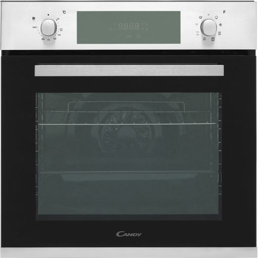 Candy FCP615X Built In Electric Single Oven - Stainless Steel - A Rated