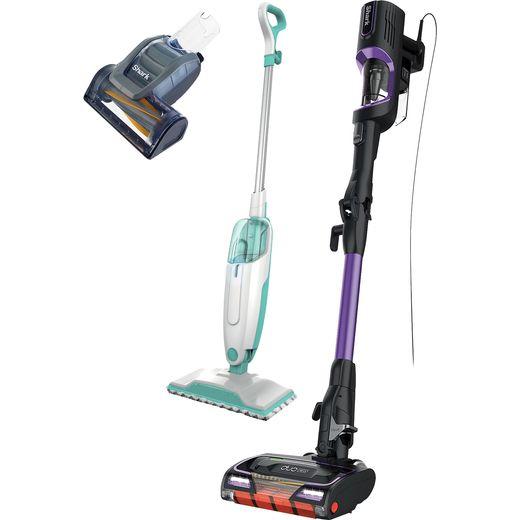 Shark HZ500S1000UK Upright Vacuum & Steam Mop Bundle