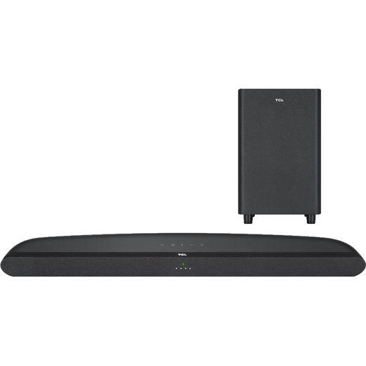 TCL TS6110 Bluetooth 2.1 Soundbar with Wireless Subwoofer - Black