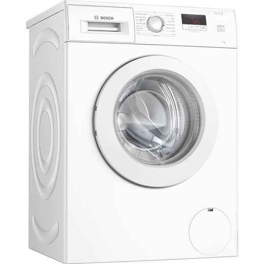 Bosch Serie 2 WAJ28008GB 7Kg Washing Machine with 1400 rpm - White - D Rated