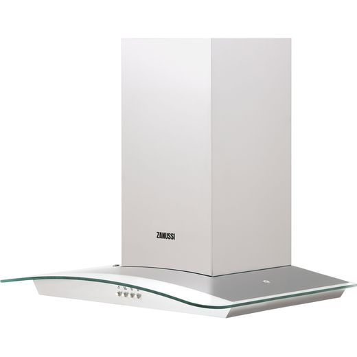 Zanussi ZHC62352X 60 cm Chimney Cooker Hood - Stainless Steel - C Rated